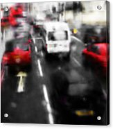 London By Bus Acrylic Print
