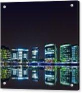 London By Night Acrylic Print