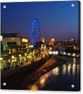 London By Night Acrylic Print