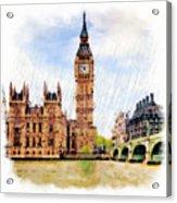 London Calling Acrylic Print