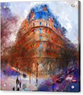 London Central Acrylic Print by Marilyn Sholin