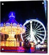 London Christmas Markets 17 Acrylic Print