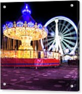 London Christmas Markets 19 Acrylic Print