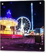 London Christmas Markets 20 Acrylic Print