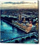 London City Acrylic Print