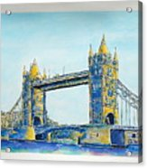 London City Tower Bridge Acrylic Print