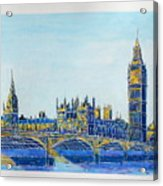 London City Westminster Acrylic Print