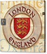 London Coat Of Arms Acrylic Print
