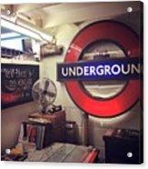 London Details Acrylic Print