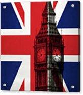 London England Big Ben Acrylic Print