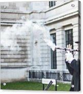 London Explosion 2 Acrylic Print
