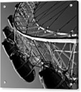 London Eye Acrylic Print by David Pyatt