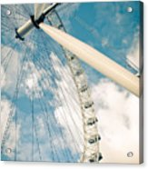 London Eye Ferris Wheel Acrylic Print by Andy Smy