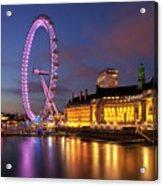 London Eye Acrylic Print by Stuart Stevenson photography