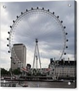 London Eye View Acrylic Print