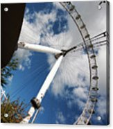 London Ferris Wheel Acrylic Print