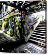 London Graffiti Art Acrylic Print