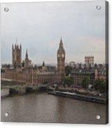 London Icons Acrylic Print