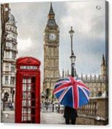 London Lady Acrylic Print