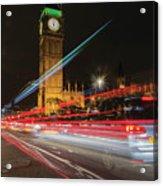 London Lit Acrylic Print