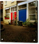 London Mews Acrylic Print