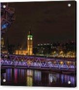 London Nights Acrylic Print
