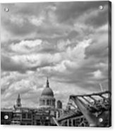 London - St. Pauls Cathedrale Acrylic Print