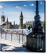 London Stranger Acrylic Print
