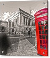 London Telephone 2 C Acrylic Print