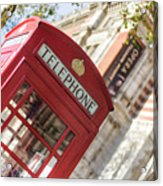 London Telephone 3 Acrylic Print