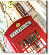 London Telephone 3 Acrylic Print