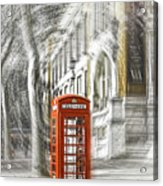 London Telephone C Acrylic Print