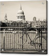 London Thames 1 Acrylic Print