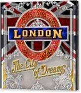 London Town Acrylic Print