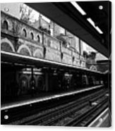 London Underground Station Acrylic Print