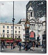 London - Victoria Station Acrylic Print