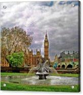 London's Big Ben  Acrylic Print