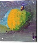 Lone Apple Acrylic Print