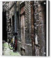 Lone Bike In France Acrylic Print