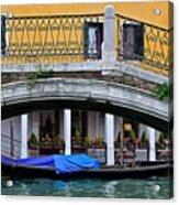 Lone Gondola Acrylic Print
