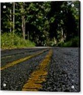 Lone Road Acrylic Print