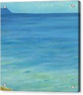 Lone Rock Beach Acrylic Print