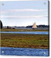 Lone Sail Acrylic Print