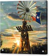 Lone Star Sky Acrylic Print