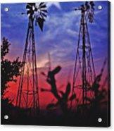 Lone Star Sunset Acrylic Print