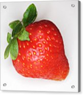 Lone Strawberry Acrylic Print