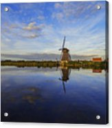 Lone Windmill Acrylic Print by Chad Dutson