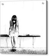 Loneliness Acrylic Print
