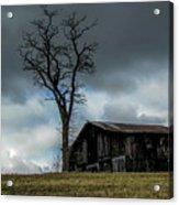 Lonely Barn Acrylic Print