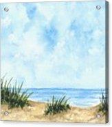 Lonely Beach Acrylic Print